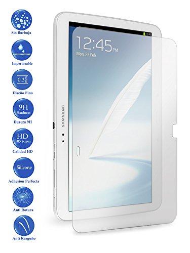 Todotumovil Protector de Pantalla Samsung Galaxy Tab 3 10.1 P5200 de Cristal Templado Vidrio 9H para Tablet