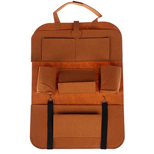 Bolsa de almacenamiento para asiento de coche, bolsa de almacenamiento para coche, cubo de basura para interior de coche, bolsa de almacenamiento plegable, multibolsillo