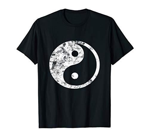 Yin Yang T-Shirt. Fun Yin-Yang Symbol Yoga Tao Tee