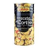 SARASA - Aceitunas Verdes con Hueso- Aliñadas segun Receta Tradicional Andaluza- La receta del cortijo- 1450 Neto
