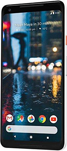 Google Pixel 2 XL (18:9 Display, 128 GB) Black-White