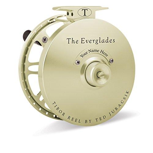 Tibor Everglades Fly Reel Satin Gold