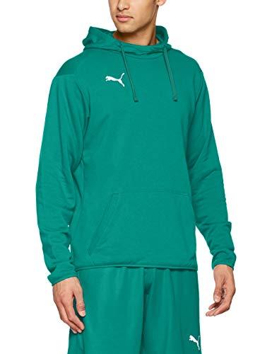 Puma Liga Casuals Hoody, Felpa con Cappuccio Uomo, Verde (Pepper Green/White), M