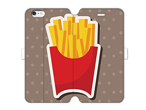 etuo Cover per Apple iPhone 6, motivo: patatine fritte fritte