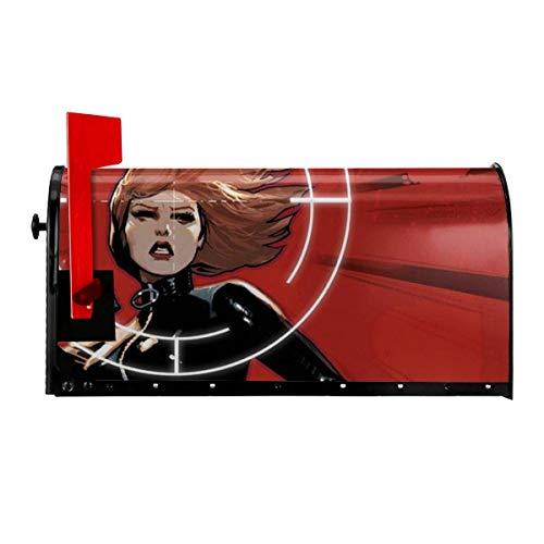 Buzón de película cubre el paquete postal magnético buzón al aire libre caja de cartas pulgadas original hogar decorativo dos tamaños en/25.5 pulgadas