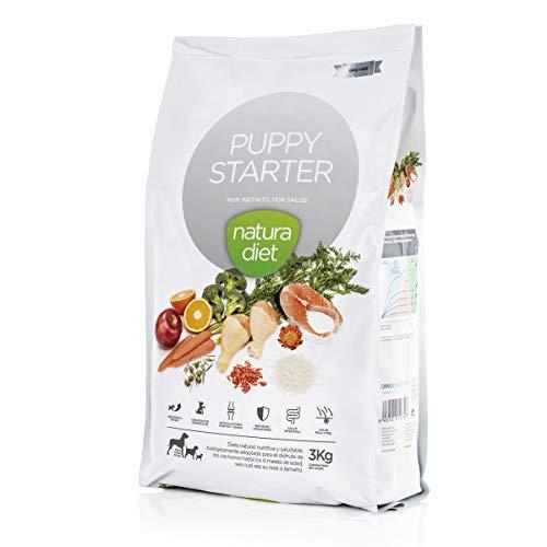 Natura diet Puppy starter 3 kg Alimento Natural seco.