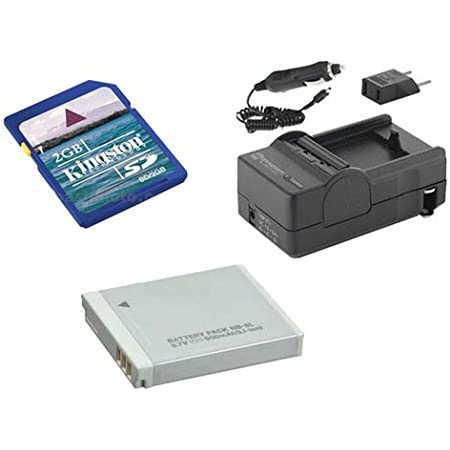 Amazon Com Canon Powershot S95 Digital Camera Accessory Kit Includes Sdnb6l Battery Sdm 185 Charger Ksd2gb Memory Card Camera Photo