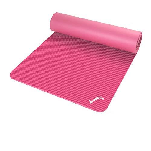 Alfombrillas de baile básicas para niños, esterilla de yoga para niñas y bailes, antideslizantes, gruesas, para practicar el hogar y baile, rosa