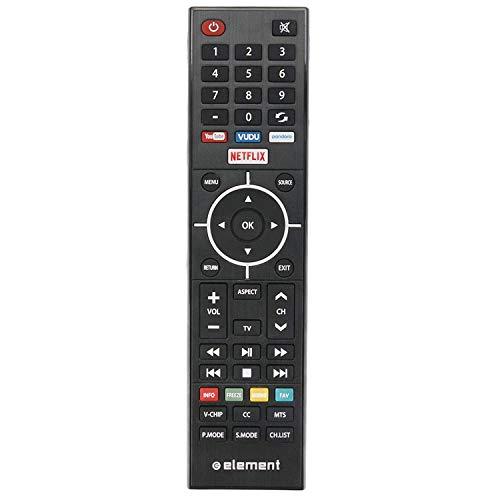 New Replacement Remote Control for Element OTT Smart TV ELSJ5017, ELSW3917BF, E4SFT5517, E4SFT5017, E4STA5017