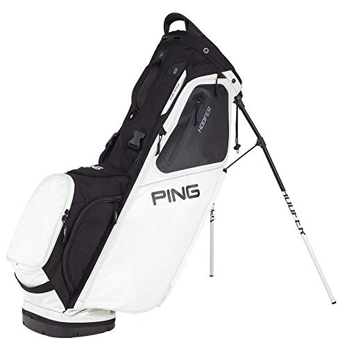 Best Deals! Ping Hoofer Stand Bag 2018-08 WHITE/BLACK