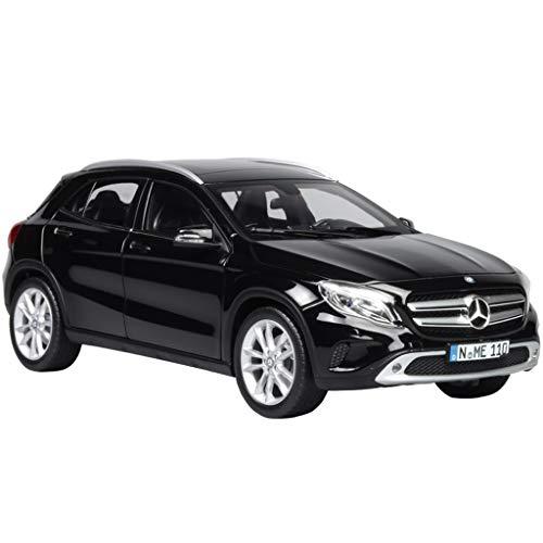 GAOQUN-TOY Modèle de Voiture 1:18 Mercedes-Benz GLA Micro SUV Alliage de Benz (Couleur : Noir, Taille : 23.5cm*10cm*8cm)