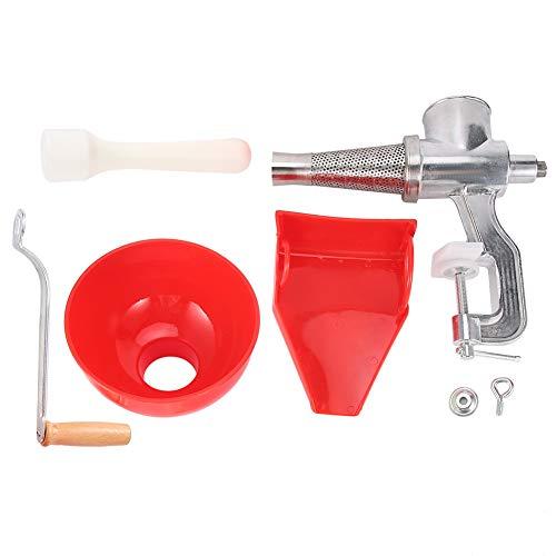 Manual Juicer, Aluminum Alloy, Thick, Vegetables Juicer, Simple, for Squeeze Fruit Juice Home Beverage Shop Squeeze Vegetable Juice