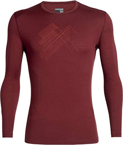Icebreaker 200 Oasis Longsleeve Crewe Shirt - Snap Head - Men - shirt met lange mouwen