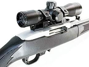 TRINITY Ruger 10/22 Combo Kit with 4x32 Scope Rings Rail Mount Base Picatinny Weaver Single Rail Aluminum Black mildot Reticle Hunting Tactical