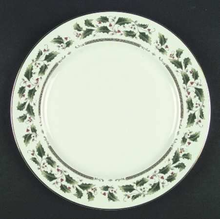 Royal Limited Holly Holiday Max 50% OFF Dinner Plate Now free shipping