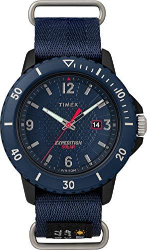 Timex Orologio Analogico Solare con Cinturino in Tessuto TW4B14300