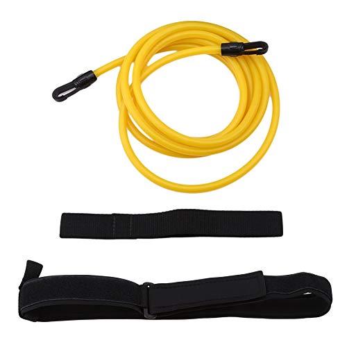 ManTou01 Swimming Resistance Belt Swim Training Band Swimming Belts, Swimming Pool Resistance Belt Training Strap Band Swim Pool Hip Belt Training Set for Adults Kids