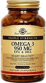 Solgar Omega 3 950 mg, 100 Softgels