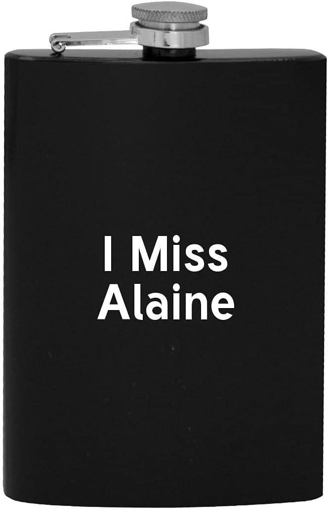 I Tulsa Mall Miss Popular Alaine - 8oz Flask Alcohol Hip Drinking