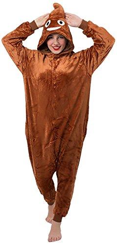 Everglamour Mono/Body Suit, caca Emoji,