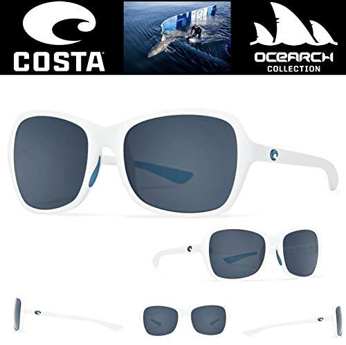 Costa Del Mar SUNGLASSES KARE GROTE witte OCEARCH COLLECTIE