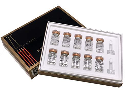 Zena HyalNano Hyaluronsäure Hautfüller - Anti-Falten-, Anti-Aging-Pulver + Serum für Mikronadeln zur Verwendung mit Dermapen/Dermaroller - Koreanische professionelle Kosmetik