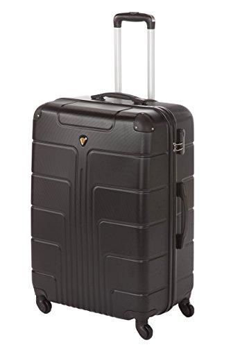 Hartschale Koffer New York Gr. L, 65cm, 68 Liter schwarz