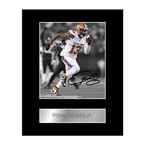 Odell Beckham Jr. Signiertes Foto mit Passepartout, Cleveland Browns #2, signiert, Geschenk