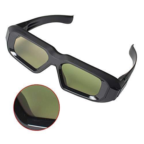 3D Brille PC Brille Shutter-3D-Brille Kompatibel mit NVIDIA Ningda Vision Generation 2 3 Generation Stereo-Funkbrillen