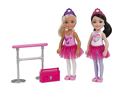Barbie Kuu Harajuku Love Owl Doll 2 Chelsea Ballerine,con Sbarra da Danza Classica e Radio, Multicolore, FHK98