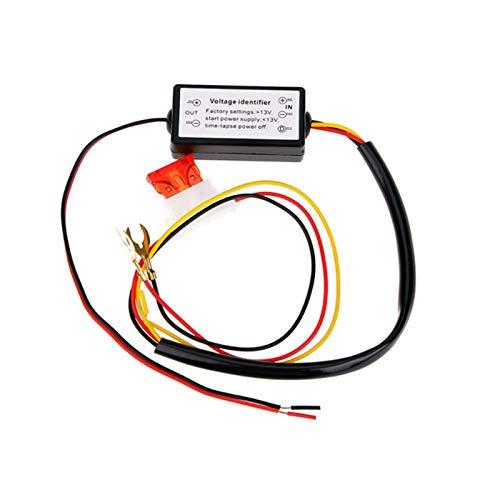 LICHONGUI 1 UNID Piezas DE REPASSO AUTOMÁTICO Accesorios DE Coches AUTOMÁTICO DIMMER HARNOS DRL Control Cars LED Luces de Funcionamiento diurnos LED Interruptores de relé (Color : 1pc)