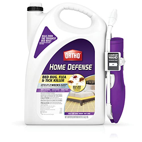 Ortho 0202510 Home Defense Bed Bug Flea and Tick Killer with Comfort Wand 05 gal