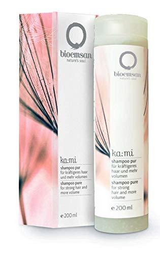 bioemsan Shampoo Pur - für kräftigeres Haar und mehr Volumen, 200 ml