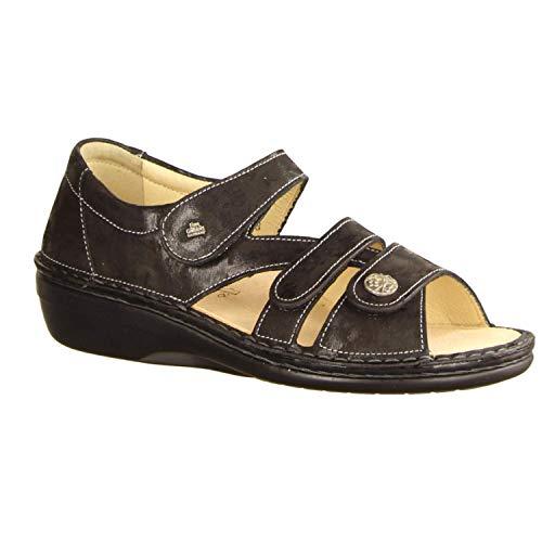 FinnComfort Sintra-S 82585-644144 687526 - Sandalias para mujer, color negro, color Negro, talla 38 EU