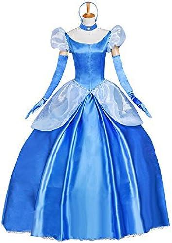 [Aschenputtel-Stil] Kleid   Kleid Kostuem-Abendkleid Waren Fest Halloween Kostuem Anime Maskerade sensen (L Groesse)