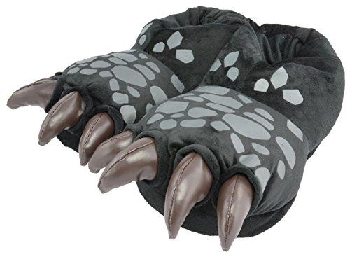 Dragons Hausschuhe DreamWorks Ohnezahns Drachenfüße 3D Slipper (38-40)