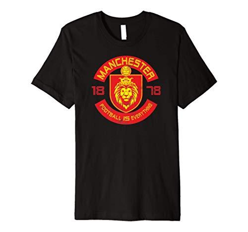 Football Is Everything - Manchester Squad Retro Premium T-Shirt