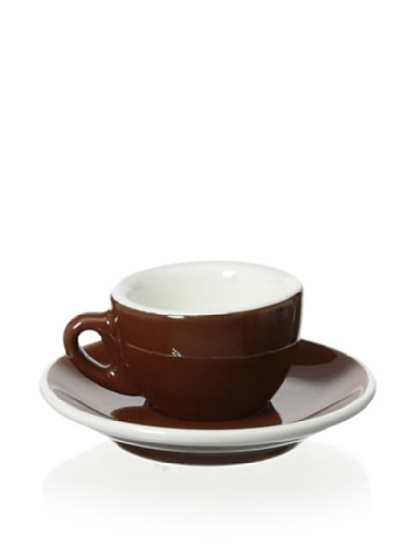 Cilio Espressotasse Roma Marone, Porzellan, braun, 10.8 x 15.4 x 22 cm