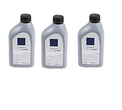 Genuine Mercedes Power Steering Fluid Set (x3) OEM Q1460001