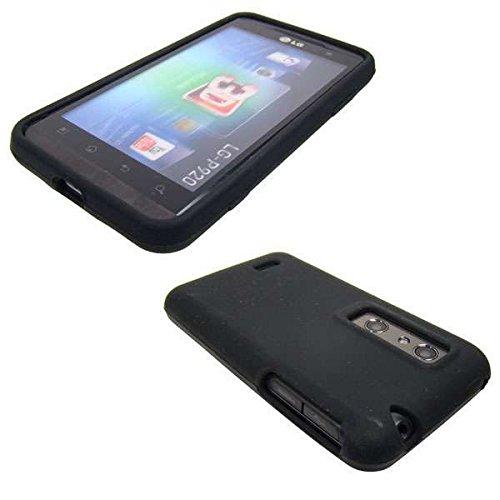 caseroxx TPU-Hülle für LG P920 Optimus 3D, Handy Hülle Tasche (TPU-Hülle in schwarz)