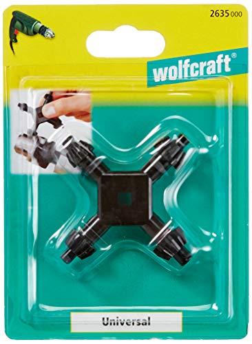Wolfcraft 2635000 Bohrfutterschlüssel, schwarz