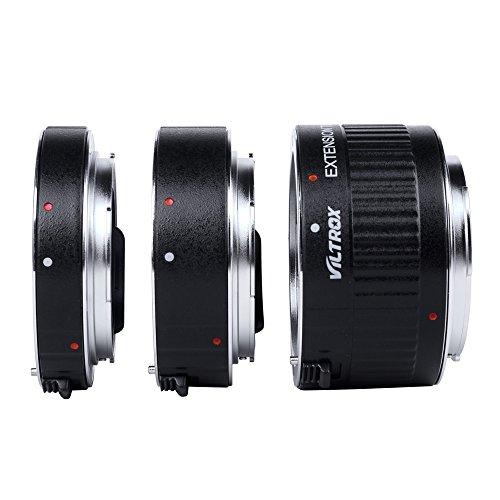 Andoer Viltrox DG-G autofocus AF TTL Ring-Verlängerungsset, 12mm, 20mm, 36mm, Set, Metallbefestigung, mit Blenden, für Canon EF EF-S, 35mm, DSLR-Objektiv