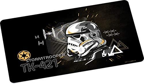 Star Wars Brettchen Stormtrooper Gold Pan, Desayuno, Tablas de Cortar, multicolor