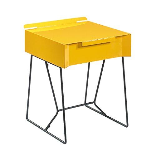 Sauder Soft Modern End Table, L: 15.98