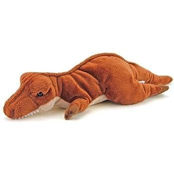 カロラータ ティラノサウルス ぬいぐるみ 恐竜 (ねそべりシリーズ) 14cm×9cm×34cm