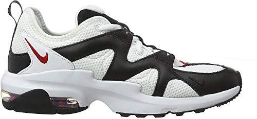 Nike Herren AIR MAX GRAVITON Laufschuhe, Weiß (White/University Red-Black 100), 44 EU