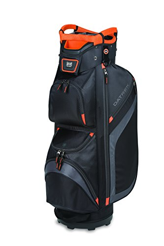 Datrek DG Lite II Cart Bag Black/Charcoal/Orange DG Lite II Cart Bag