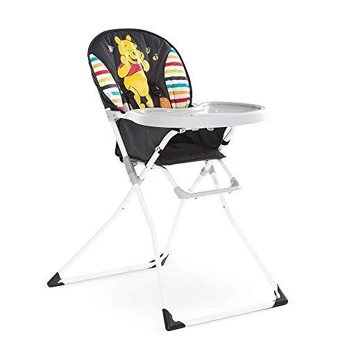 Hauck / Disney Mac Baby Kinderhochstuhl / Essbrett mit Bechervertiefung, zusammenklappbar, ab 6 Monaten, Pooh Geo