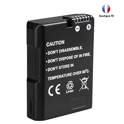 movttek® alta capacidad batería de repuesto para Nikon 1200mAh EN-EL14EN-EL14a D3200D3100D3300D5100D5200D5300D5500DF Coolpix P7800P7000P7100P7700