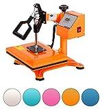 RICOO Power Zwerg-GS Transferpresse Textilpresse Textildruckpresse Schwenkbar Thermopresse Transferdruck Bügelpresse Textil T-Shirtpresse Sublimationspresse